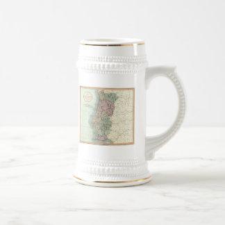 Vintage Map of Portugal (1801) Mugs