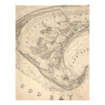 Vintage Map of Provincetown (1836) Letterhead