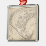 Vintage Map of Provincetown (1836) Ornament