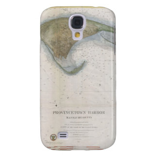 Vintage Map of Provincetown Galaxy S4 Cover
