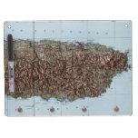 Vintage Map of Puerto Rico (1952) Dry-Erase Boards