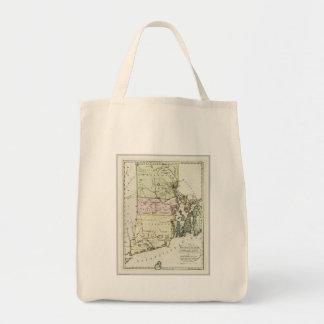 Vintage Map of Rhode Island (1797) Bag