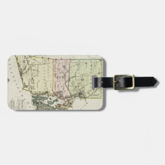 Vintage Map of Rhode Island (1797) Bag Tag