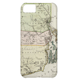 Vintage Map of Rhode Island (1797) iPhone 5C Covers