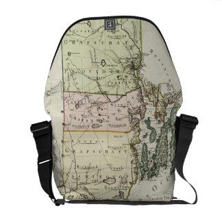 Vintage Map of Rhode Island (1797) Courier Bag
