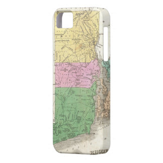 Vintage Map of Rhode Island (1827) iPhone 5 Cases