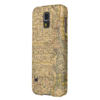 Vintage Map of Rhode Island (1875) Galaxy S5 Covers