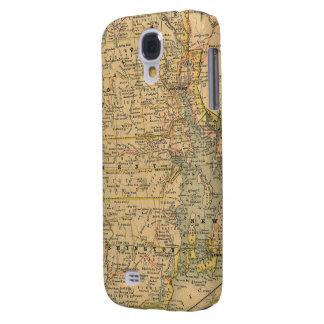 Vintage Map of Rhode Island (1875) Samsung Galaxy S4 Case