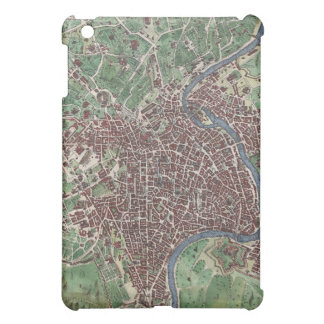 Vintage Map of Rome Italy (1721) iPad Mini Cover