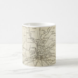 Vintage Map of Rome Italy (1821) Coffee Mug