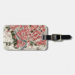 Vintage Map of Rome, Italy. Bag Tags