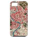 Vintage Map of Rome, Italy. iPhone 5 Covers