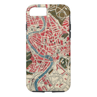 Vintage Map of Rome, Italy. iPhone 7 Case