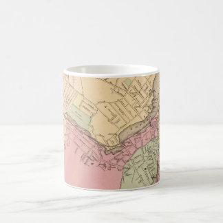 Vintage Map of Salem Massachusetts (1871) Classic White Coffee Mug