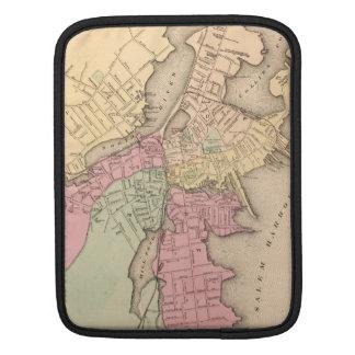 Vintage Map of Salem Massachusetts (1871) iPad Sleeve