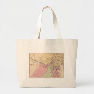 Vintage Map of Salem Massachusetts (1871) Large Tote Bag