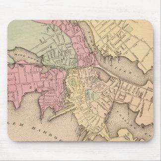 Vintage Map of Salem Massachusetts (1871) Mouse Pad
