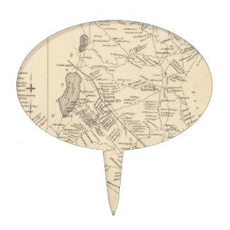 Vintage Map of Salem Massachusetts (1892)