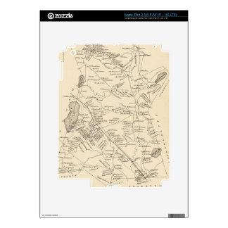 Vintage Map of Salem Massachusetts (1892) iPad 3 Skin