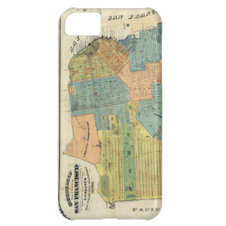 Vintage Map of San Francisco 1890 iPhone 5C Cover