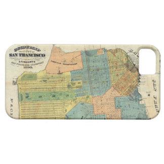 Vintage Map of San Francisco (1890) iPhone 5 Case