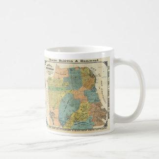 Vintage Map of San Francisco (1890) Coffee Mug