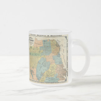 Vintage Map of San Francisco (1890) Coffee Mugs