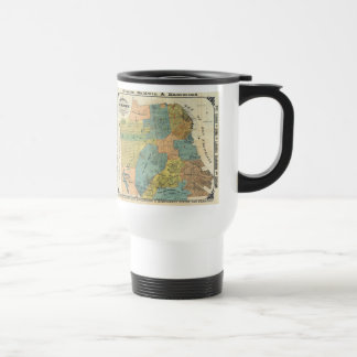 Vintage Map of San Francisco (1890) Travel Mug