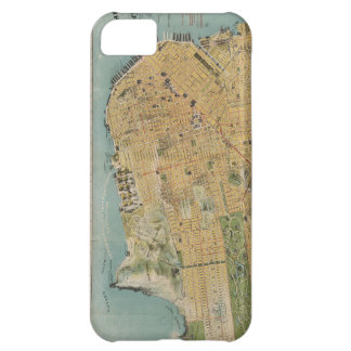 Vintage Map of San Francisco 1915 Case For iPhone 5C