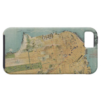 Vintage Map of San Francisco 1915 iPhone 5 Cover