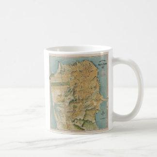 Vintage Map of San Francisco (1915) Coffee Mug