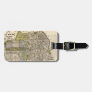 Vintage Map of San Francisco (1932) Bag Tag