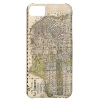Vintage Map of San Francisco 1932 iPhone 5C Covers