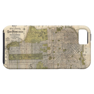 Vintage Map of San Francisco 1932 iPhone 5 Cover