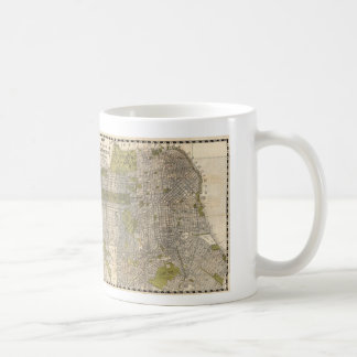 Vintage Map of San Francisco (1932) Coffee Mug