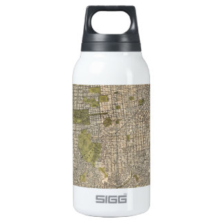 Vintage Map of San Francisco (1932) Insulated Water Bottle