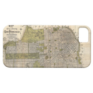 Vintage Map of San Francisco (1932) iPhone SE/5/5s Case