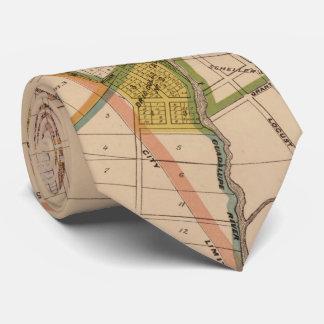 Vintage Map of San Jose California (1886) Tie