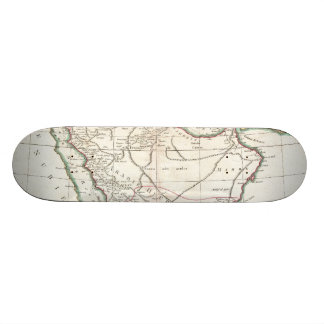 Vintage Map of Saudi Arabia (1771) Skateboard