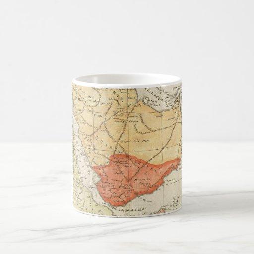 Vintage Map of Saudi Arabia (1780) Classic White Coffee Mug