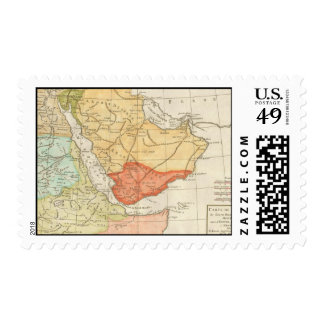 Vintage Map of Saudi Arabia (1780) Postage