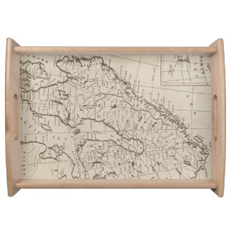Vintage Map of Scandinavia (1800) Serving Tray