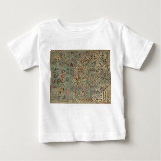 Vintage Map of Scandinavia T-shirt