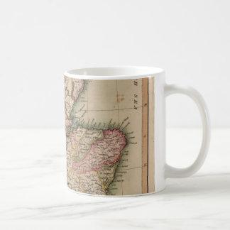Vintage Map of Scotland (1814) Coffee Mug