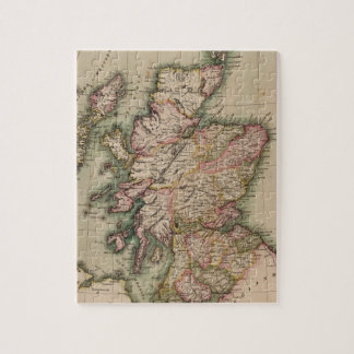 Vintage Map of Scotland (1814) Jigsaw Puzzle