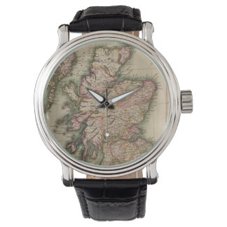 Vintage Map of Scotland (1814) Watch