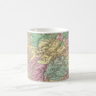 Vintage Map of Scotland (1827) Coffee Mug