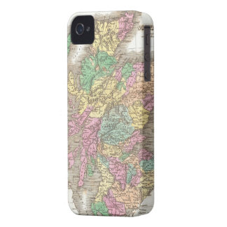 Vintage Map of Scotland (1827) iPhone 4 Case
