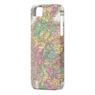 Vintage Map of Scotland (1827) iPhone SE/5/5s Case