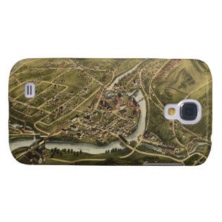 Vintage Map of Seymour Connecticut (1879) Galaxy S4 Cover